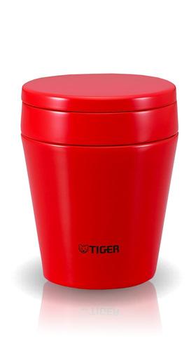 Термос для еды Tiger MCC-A038 (0,38 литра) красный