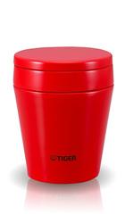 Термос для еды Tiger MCC-A038 (0,38 литра) красный MCC-A038 RS