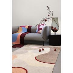 Подушка декоративная из хлопка с авторским принтом из коллекции Freak Fruit, 45х45 см Tkano TK20-CU0003