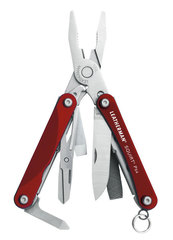 Мультитул Leatherman Squirt PS4, 9 функций, красный 831227