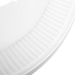 Тарелка закусочная 22 см. Plisse-Toulouse PILLIVUYT арт. 214222BL1