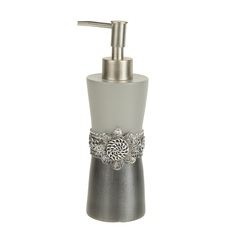 Дозатор для жидкого мыла Avanti Braided Medallion Silver 11166D-SLV