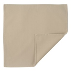 Салфетка сервировочная из хлопка бежевого цвета из коллекции Essential, 45х45 см Tkano TK20-NA0004