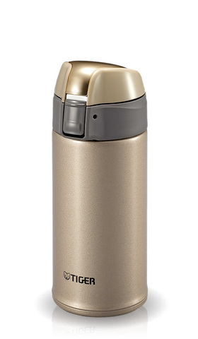 Термокружка Tiger MMQ-S035 (0,35 литра) золотая