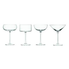 Бокал-креманка для шампанского и коктейлей Lulu 4 шт. LSA G1069-00-301