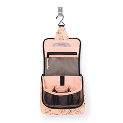 Органайзер детский Toiletbag S cats and dogs rose Reisenthel IO3064