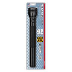 Фонарь MAGLITE, 4D, черный, 37,5 см, в блистере S4D016E