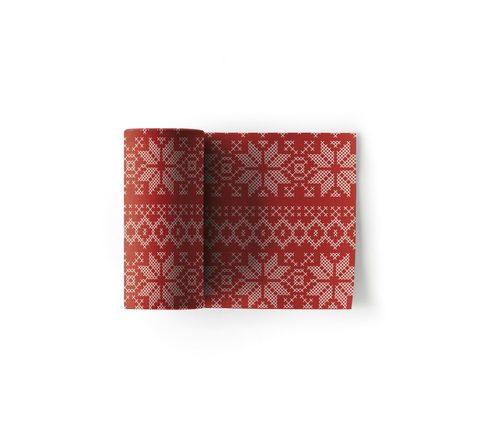 Салфетки в рулоне 11х11см (50шт) My Drap Cotton Noel SA11N5/701-2