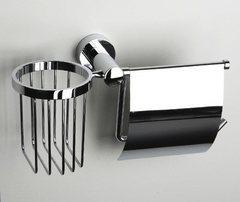 Donau K-9459 Держатель туалетной бумаги и освежителя WasserKRAFT Серия Donau K-9400