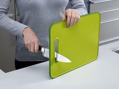 Доска разделочная с ножеточкой Joseph Joseph Slice & Sharpen™ большая зеленая 60027