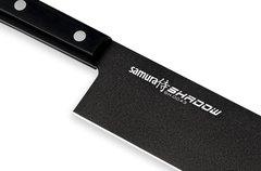 Нож кухонный Накири 170мм Samura SHADOW SH-0043/K
