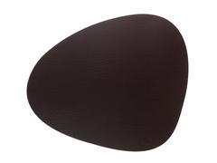 Подстановочная салфетка фигурная 37x44 см LindDNA Bull brown 9873