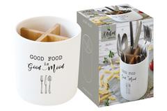 Банка-подставка п/кух.инструменты Kitchen Elements в подарочной упаковке Easy Life AL-56210
