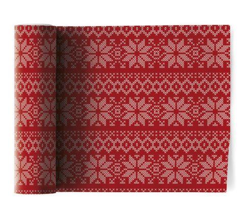 Салфетки в рулоне 20х20см (12шт) My Drap Cotton Noel SA20N5/701-7