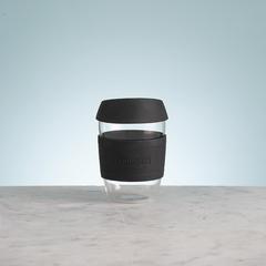 Кружка для кофе TYPHOON 400 мл Typhoon стекло черная 1401.470V