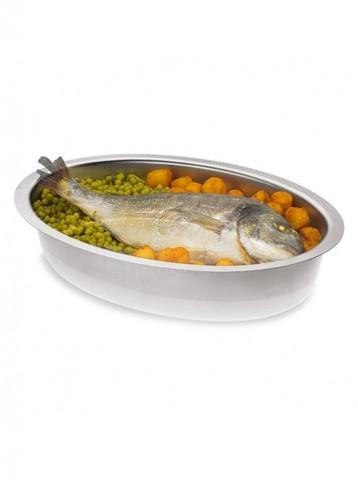 Форма Frabosk Fornomania для рыбы 33х25, нержавеющая сталь 18/10 38214