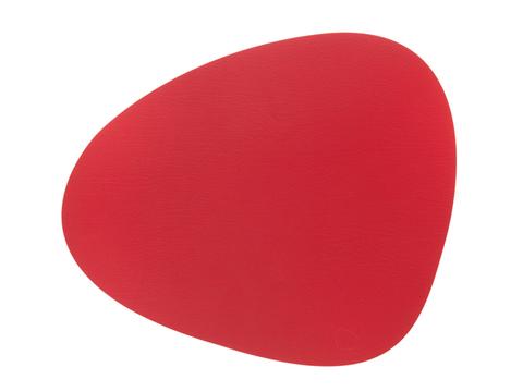 Подстановочная салфетка фигурная 37x44 см LindDNA Bull red 9874