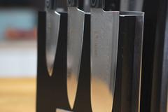 Комплект из 5 ножей Samura 67 Damascus и подставки
