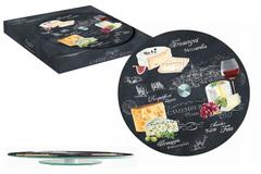 Блюдо стеклянное для сыра (вращающееся) Мир сыров Easy Life AL-46541