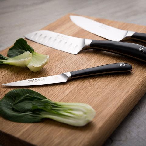 Набор из 3 кухонных ножей в подарочной упаковке ROBERT WELCH Signature Promotion арт. SIGSA2091V/3