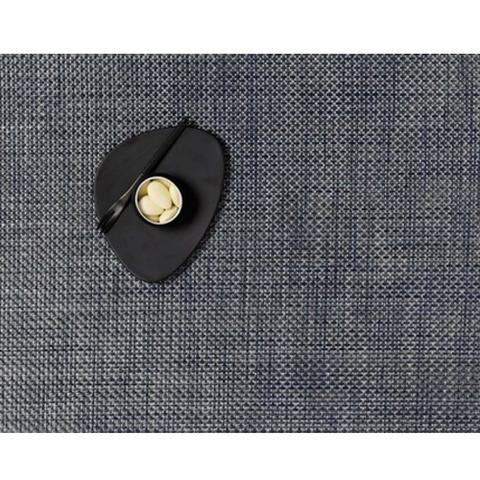 Салфетка подстановочная, жаккардовое плетение, винил, (36х48) Denim (100110-012) CHILEWICH Basketweave арт. 0025-BASK-DENIM