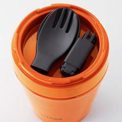 Термос для еды Tiger MCC-A038 (0,38 литра) оранжевый MCC-A038 YS