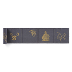 Салфетки в рулоне 20х20см (12шт) My Drap Linen Always Christmas SLA20N5/303-7