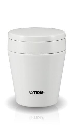 Термос для еды Tiger MCC-A038 (0,38 литра) белый