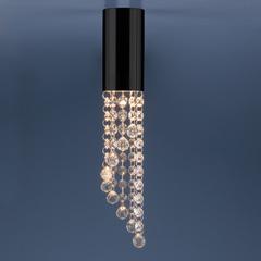 Накладной потолочный  светильник 1083 GU10 BK черный Elektrostandard