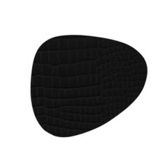 Подстаканник фигурный 11x13 см LindDNA Croco black 9884