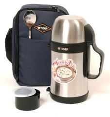 Термос универсальный (для еды и напитков)Tiger MCW-P091 (0,9 литра) стальной MCW-P091 XS