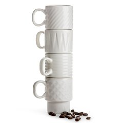Набор 4 кружек для эспрессо Coffee & More SagaForm 5017880