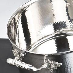 Кастрюля 26см (8,0л), крышка с посеребренной декорированной ручкой, RUFFONI Opus Prima арт. D26 Ruffoni