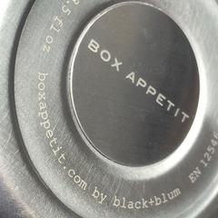 Термос для горячего Black+Blum Food Flask оранжевый BAM-FF-S003