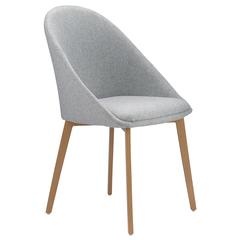 Кресло Berg Molly, рогожка, серое BAAR-MOK228T4