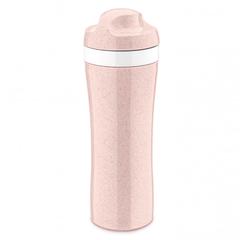 Бутылка OASE Organic, 425 мл, розовая Koziol 3708669