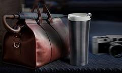 Термокружка Asobu Manhattan (0,5 литра) серая V700 smoke