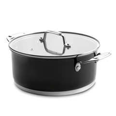 Кастрюля 20см (2,8 л) LACOR Cookware Black арт. 44020