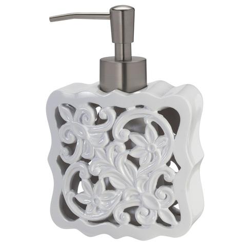 Дозатор для жидкого мыла Creative Bath Belle BEL59WH