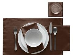 Салфетки в рулоне 20х20см (25шт) My Drap Chocolate SA21/601-1