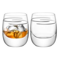 Набор из 2 бокалов для виски Signature Verso 275 мл LSA International G1127-10-408