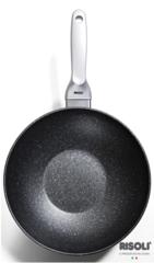 Литая сковорода-ВОК Risoli Granito Induction 28см 0180GRIN/28H