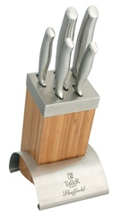 Набор из 5 ножей и подставки Taller Шеффилд TR-2000
