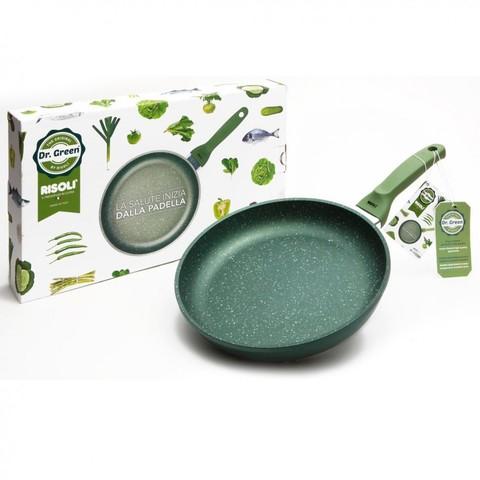 Литая сковорода Risoli Dr Green 32см 00103DR/32GS