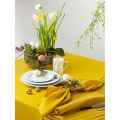 Салфетка сервировочная из хлопка горчичного цвета из коллекции Prairie, 45х45 см Tkano TK20-NA0002
