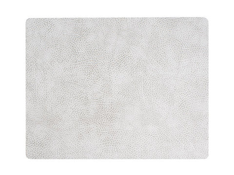 Подстановочная салфетка прямоугольная 35x45 см LindDNA Hippo white-grey 98935