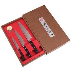 Набор из 3 кухонных ножей SATAKE Stainless Bolster HG8362
