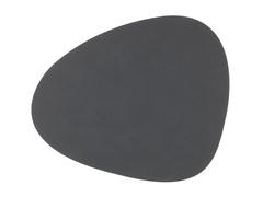 Подстановочная салфетка фигурная 37x44 см LindDNA Nupo anthracite 981161