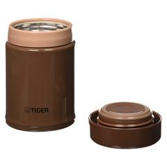 Термос для еды Tiger MCA-025 (0,25 литра) коричневый MCA-A025 TI