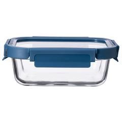 Контейнер для еды Smart Solutions стеклянный 1050 мл темно-синий ID1050RC_7708C